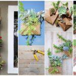 """16 ไอเดีย DIY """"กระถางดอกไม้แนวตั้ง"""" ทำจากวัสดุหาง่าย ไม่ต้องเปลืองงบ"""