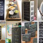 """30 ไอเดีย สร้างของใช้ของโชว์จาก """"กระดานดำ"""" ไอเดียที่เหมาะกับการตกแต่งตามร้านกาแฟ คาเฟ่ต่างๆ"""