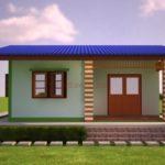 แบบบ้านเรียบง่าย ราคาประหยัด 2 ห้องนอน 1 ห้องน้ำ มีพื้นที่ใช้สอยครบถ้วน สร้างด้วยงบเพียง 400,000 บาท