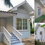 บ้านสีขาวหลังน้อยสไตล์วินเทจ เรียบๆ น่ารัก เหมาะกับทุกอิริยาบทแห่งการพักอาศัย