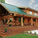 บ้านไม้ซุงสไตล์รัสติค บรรยากาศสุดคลาสสิค เพื่อการพักผ่อนอันแสนอบอุ่น