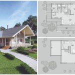 แบบบ้านไม้แนวคอทเทจ ออกแบบแนวบ้านสวนเพื่อการพักผ่อน เปิดรับบรรยากาศแสนอบอุ่นของชนบท