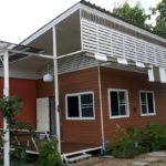 บ้านสวนหลังน้อย สไตล์โมเดิร์น มีชานบ้านพักผ่อน ท่ามกลางธรรมชาติ ในบรรยากาศชนบท