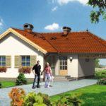 บ้านเดียวชั้นเดียว ขนาดเล็กกะทัดรัด ตกแต่งเรียง่าย ภายใน 2 ห้องนอน รับเข้ากับครอบครัวแรกเริ่ม