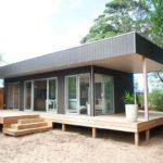 บ้านสวนสไตล์โมเดิร์เคบิน บิวท์อินด้วยงานไม้ เว้นจังหวะด้วยเฉลียงพักผ่อน ภายใน 2 ห้องนอน 1 ห้องน้ำ