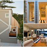 บ้านสองชั้นบรรยากาศแบบชายทะเล ดีไซน์โมเดิร์น โดดเด่นด้วยงานไม้ตกแต่งสวยงาม