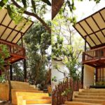 บ้านไม้กลางสวน อารมณ์แบบรีสอร์ท พร้อมพื้นที่พักผ่อนที่อิงแอบธรรมชาติ