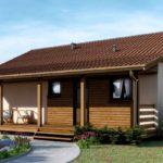 บ้านสวนสไตล์ร่วมสมัย โทนสีอบอุ่นด้วยการตกแต่งจากงานไม้ พร้อมชานบ้านรองรับการพักผ่อน