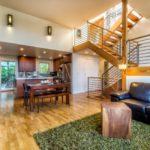 บ้านสองชั้นสไตล์โมเดิร์น รูปทรงภูมิฐาน หลังคาเพิงหมาแหงน พร้อมพื้นที่พักผ่อนหลังบ้าน อิงแอบธรรมชาติ