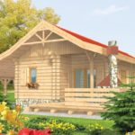 บ้านสวนชั้นเดียว ตกแต่งด้วยไม้ทั้งหลัง 2 ห้องนอน 1 ห้องน้ำ เหมาะกับการใช้ชีวิตที่เรียบง่าย
