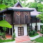 บ้านทรงไทยล้านนาประยุกต์ อบอุ่นและคลาสสิค โอบล้อมด้วยธรรมชาติแสนสงบ