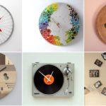 """40 ไอเดีย """"นาฬิกาทำมือ"""" ประยุกต์จากของใช้ใกล้ตัว แต่งบ้านก็ได้ เป็นของฝากก็เยี่ยม"""