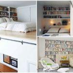 35 ไอเดีย ชั้นหนังสือบนหัวเตียง สองฟังก์ชันในหนึ่งเดียว ที่เอาใจการพักผ่อนของหนอนหนังสือไปในตัว