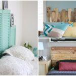 25 ไอเดีย DIY หัวเตียง เสริมความงามให้กับห้องนอน พร้อมการใช้งานฟังก์ชันเพิ่มเติม