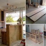 ทำเองใช้เอง DIY ครัว & เคาน์เตอร์ ด้วยไม้พาเลทและไม้ลัง ดูดีได้แบบไม่ต้องแพง