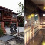 บ้านไม้ทรงไทยยกพื้นสูง หลังคาเพิงหมาแหงน 2 ห้องนอน 1 ห้องน้ำ สร้างได้ด้วยงบเพียง 450,000 บาท