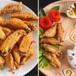 """ชวนเข้าครัวทำ """"ปีกไก่กลางทอดเกลือ"""" มาพร้อมวิธีจัดจานแบบมุ้งมิ้งสำหรับเด็กๆ แบบง่ายเว่อร์"""