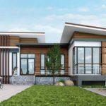 แบบบ้านโมเดิร์นยกสูง ออกแบบพื้นที่แยกส่วน ลงตัวกะทัดรัด คุ้มค่าทุกการใช้สอย