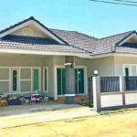 บ้านชั้นเดียว สไตล์คอนเทมโพรารี 3 ห้องนอน 2 ห้องน้ำ เรียบง่าย ดูดี เหมาะกับครอบครัวขยาย