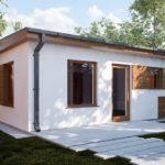 บ้านสวนสไตล์โมเดิร์น ออกแบบเรียบง่าย เหมาะกับครอบครัวแรกเริ่ม ในงบประมาณที่จำกัด