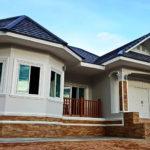 บ้านชั้นเดียวสไตล์โคโลเนียล เรียบโปร่งและอบอุ่นสะท้อนความสวยงามออกมาในรูปแบบร่วมสมัย