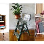 """30 ไอเดีย """"โต๊ะข้าง โต๊ะสตู โต๊ะกาแฟ"""" DIY จากงานไม้ร่วมกับวัสดุหลากหลาย เพิ่มความเก๋ให้กับพื้นที่พักผ่อน"""