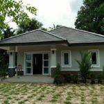 บ้านโทนสีเทาทรงปั้นหยา สวยงามแบบฉบับร่วมสมัย ก่อสร้างในงบประมาณ 750,000 บาท