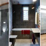 """17 ไอเดีย """"ห้องน้ำสไตล์อินดัสเทรียล"""" ดิบๆ ก็สวยได้ เรียบง่าย แต่มีเสน่ห์"""