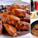 """ชวนมาเข้าครัวกันกับเมนู """"ปีกไก่ต้มโค้กเห็ดหอม"""" อร่อย นุ่มลิ้น ด้วยรสชาติที่ไม่เหมือนใคร"""