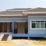 รีวิว สร้างบ้านชั้นเดียวยกพื้น เรียบง่ายแต่อบอุ่น คุมงานก่อสร้างด้วยตัวเองทั้งหมด งบประมาณไม่เกินล้านครึ่ง