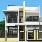 แบบบ้านสองชั้น สไตล์โมเดิร์นทรงสี่เหลี่ยม 4 ห้องนอน 3 ห้องน้ำ กับดีไซน์ที่ซับซ้อนแต่ลงตัว