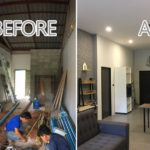 รีโนเวทห้องแถวเก่า ให้กลายเป็นบ้านหลังใหม่แสนอบอุ่น เพียบพร้อม ครบครัน ทันสมัย