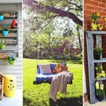 27 ไอเดีย เปลี่ยน 'พาเลทไม้' ให้เป็น 'เฟอร์นิเจอร์นอกบ้าน' สร้างความเพลิดเพลินให้กับบรรยากาศสวน