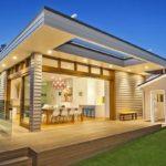 แบบบ้านสไตล์วิลล่า พร้อมการออกแบบในสีเอิร์ธโทน มีสระว่ายน้ำส่วนตัว สำหรับการพักผ่อนแบบเต็มอิ่ม