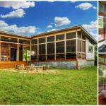 บ้านยกพื้นรูปทรงตัวแอล สร้างจากวัสดุรีไซเคิล ในสไตล์อินดัสเทรียลสุดเท่