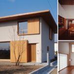 บ้านสไตล์โมเดิร์นญี่ปุ่น อบอุ่น เรียบง่าย ผสมผสานงานไม้และโทนสีขาว
