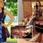 หญิงสาวเปลี่ยน 'เนคไทร์' ให้กลายเป็น 'เสื้อผ้าและของแต่งบ้าน' ครีเอทสุดๆ!!