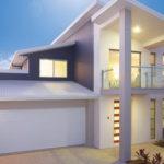 แบบบ้านโมเดิร์นชั้นครึ่งโทนสีขาว เน้นการพักผ่อนที่เรียบง่าย พร้อมเส้นสายที่เรียบร้อยสะอาดตา