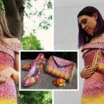 หญิงสาวไอเดียบรรเจิด เปลี่ยน 'เปลือกห่อลูกอม' กว่า 10,000 ชิ้น ให้กลายเป็น ชุดเดรส กระเป๋าผู้หญิง และรองเท้า!!
