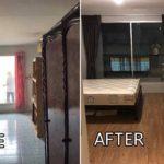 เปลี่ยนห้องคอนโดสภาพแสนเก่า ให้มีกลับมาน่าอยู่เหมือนใหม่อีกครั้ง ด้วยงบประมาณ 80,000 บาท
