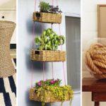15 ไอเดีย DIY ของตกแต่งบ้านด้วยเชือก ทำง่าย ทนทาน มาพร้อมกับความสวยงามไม่ซ้ำใคร