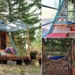 คู่รักอินดี้ สร้างกระท่อมน้อยสุดเจ๋ง สำหรับพักผ่อนกลางธรรมชาติ ด้วยงบเพียง 20,000 กว่าบาท