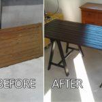 DIY เปลี่ยนประตู้ไม้เก่า ให้เป็น 'โต๊ะทานข้าวสุดคลาสสิค' ทนทานแข็งแรง ราคาไม่แพง ใช้งานได้จริง