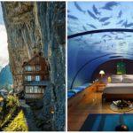 22 โรงแรมที่ล้ำที่สุดในโลก กับบรรยากาศสุดวิเศษ ที่ใครเห็นเป็นต้องอยากไปสัมผัสสักครั้งในชีวิต