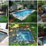 """36 ไอเดีย """"สระน้ำกะทัดรัด"""" เพิ่มพื้นที่พักผ่อนมุมโปรด ในสวนหลังบ้านของคุณ"""