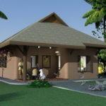 แบบบ้านดินรักษ์โลก 2 ห้องนอน 1 ห้องน้ำ ใช้ชีวิตใกล้ชิดธรรมชาติ ก่อสร้างได้ในราคาประหยัด