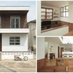 บ้านสองชั้นจากญี่ปุ่น เน้นความอบอุ่น โทนสีเรียบง่าย สไตล์มินิมอล