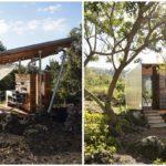 พาชม 'ศาลาตากอากาศ' ออกแบบเพื่อการพักผ่อนท่ามกลางธรรมชาติ พร้อมชุดครัวทำอาหารและห้องน้ำในตัว