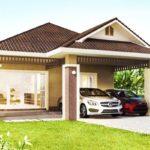 แบบบ้านชั้นเดียว สไตล์คอนเทมโพรารี 3 ห้องนอน 2 ห้องน้ำ แบบบ้านสวยอบอุ่น สำหรับครอบครัวเริ่มต้น