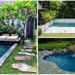 36 ไอเดีย 'สระน้ำขนาดกะทัดรัด' เพิ่มพื้นที่พักผ่อนมุมโปรด ในสวนหลังบ้านของคุณ
